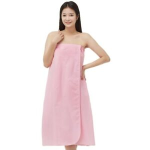 Line Gown ST330 TC Pink Spa Massage Wrap Gown Bath Shower Client Cover Up Skin