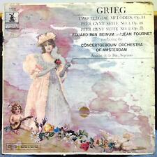 VAN BEINUM & JEAN FOURNET grieg peer gynt & two elegiac melodies LP VG+ LC 3732