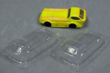 Ho Slot Car Parts - Deora Concept Race Clear .010 Lexan Body Lot of 2 - New ! !