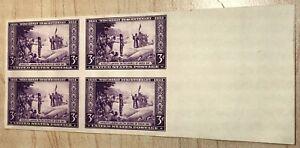 """US SCOTT #755 """"Nicolet's Landing"""" 3 CENT 1934 WISCONSIN TERCENTENARY MNH"""