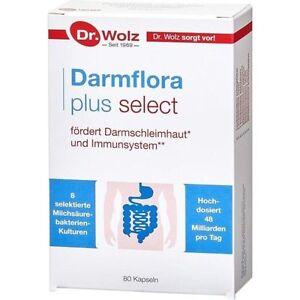 7Darmflora plus Select 80 Kps. von Dr. Wolz + Infos + Gratiszugabe