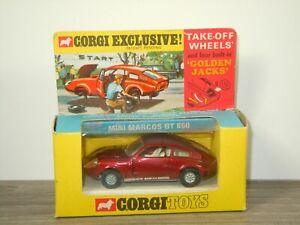 Mini Marcos GT 850 - Corgi Toys 341 England in Box *53540