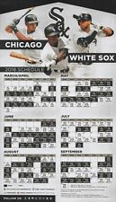 2018 Chicago White Sox Magnet Schedule with Pocket Schedule