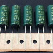 50pcs 50v 330uf 50v Suncon Sanyo Ax 10x22mm Low Impedance Long Life Capacitor