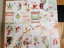 Hunkydory little books- A family christmas - 24 sheets