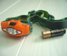 Camping Head Torch - CREE LED XP-E R3 - Multi-Mode + Super-Lightweight - Compact