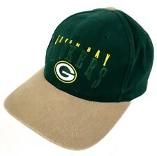c4c0625e8a4 Green Bay Packers 🏈 Vintage 90s Twins Ent. Strapback 1990s Hat Cap Brett  Favre