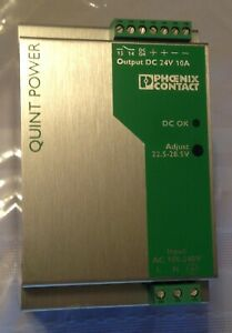 Phoenix Contact 2938604 QUINT-PS-100-240AC/24DC/10A Power Supply