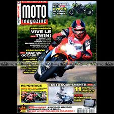 MOTO MAGAZINE N°271 DUCATI 1198 S 748 848 YAMAHA MT-01 XTZ 750 1200 SUPER TENERE