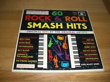60 Rock & roll smash hits.box set.american