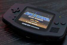 Custom GameBoy Advance - IPS v2 display with matt black shell.