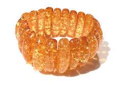 Bijou lucite bracelet ambré en lucite bangle
