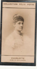 Charlotte of Schaumburg-Lippe Queen of Württemberg IMAGE CARD 1907