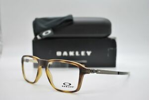 NEW OAKLEY OX8166-0452 WHEEL HOUSE TORTOISE AUTHENTIC EYEGLASSES FRAME RX 52-16