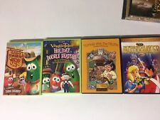 4 Religious Animated Movies On DVDs for Children! Christian VeggieTales More!