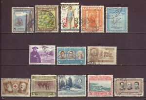 Columbia, Issues of 1947 thru 1950s, Used, OLD