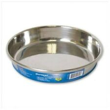 DuraPet Cat Bowl 16oz Stainless Steel Dish Rubber Bottom Brand NEW Low Sides