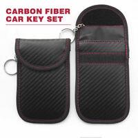 Anti-theft Car Key Fob RFID Signal Blocker Faraday Signal Blocking Pouch Bag