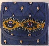 Vera Bradley Retired French Blue Pocket Wallet