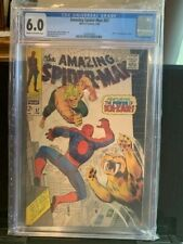 AMAZING SPIDER-MAN #57 CGC 6.0 KA-ZAR!! ZABU!! LEE/ROMITA!! 2/1968