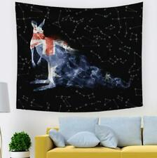 3D Kangaroo Stars G56 Tapestry Hanging Cloth Hang Wallpaper Mural Photo Zoe