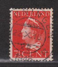 NVPH Netherlands Nederland 334 TOP CANCEL GRONINGEN Wilhelmina 1940-1947