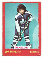 1973-74 O-Pee-Chee #39 Jim McKenny Toronto Maple Leafs Dark Back