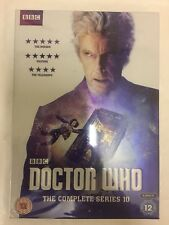 Doctor Who Complete Series 10 Tenth Season Free UK P&P Dr Who
