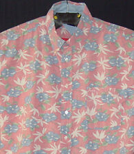 Tommy Hilfiger XL Mens Casual Shirt Reverse With Tail Print Button Down Floral