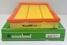 CROSLAND 8030 AIR FILTER VAUXHALL SPEEDSTER 2.2 VECTRA MK1 VX220 2.2 AS LISTED