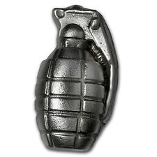 6 oz Silver Grenade - Bison Bullion (Big Boom!) - SKU #117374