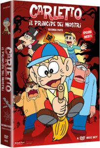 Dvd Carletto Il Principe Dei Mostri - Stagione 2 (Box 6 Dvd) ........NUOVO