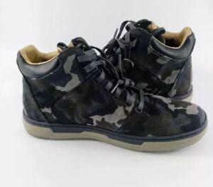 New Mark Nason Los Angeles Shoe Sneaker Boot Blue Hi Camo Size Sz 11 MSRP $200+