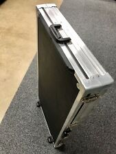 Ata Case with lockable latches, handles & wheels