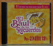 EL BAUL DE LOS RECUERDOS - POP ESPAÑOL 60'S - CD