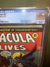 Tomb of Dracula #10 1973 MARVEL 1st Appearance of Blade CGC 4.0