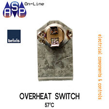 BRIVIS 57°C OVERHEAT FAN SWITCH FOR DUCTED HEATERS - PART# B010454