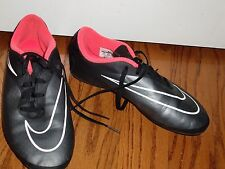 "Youth/Boy""ADIDAS""HYPERVENO Black Logo Clits Sneaker Baseball Soccer Shoes Size5Y"
