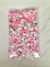 100g Pink, White, Gold Biodegradable Confetti Mix - others available