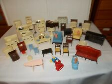 Vintage 1950's Renwal Doll House Furniture Lot
