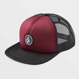 Volcom V Quarter Cheese Trucker Snapback Baseball Cap Hat Crim.OS NWT NEW Skate