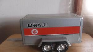 Vintage Nylint U-Haul pressed steel trailer 2 axle