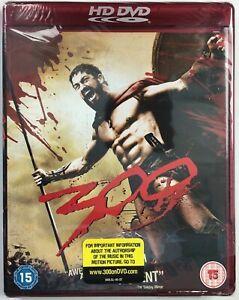 300 ( 2006 ) HD DVD Region Free Zack Snyder Movie 2007 Release -Brand New/Sealed