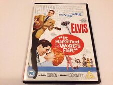 IT HAPPENED AT THE WORLD'S FAIR DVD - ELVIS - 1962 - UK RELEASE - FREE POST NEW
