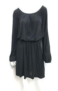 Near new! N°21 No21 Italy black elastic tie waist dress ~ sz 46 (AU12/14)