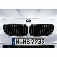 BMW OEM BLACK KIDNEY GRILLE SET M PERFORMANCE 4 SERIES 2014-2017