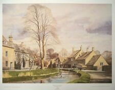 Spring in the Cotswolds  - Alan Ingham -53cm x 68cm - country scene poster print