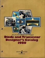 HP Diode and Transistor Designer's Catalog * 1980 *  CDROM
