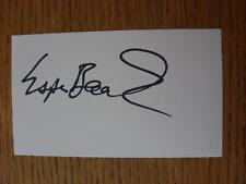 50's-2000's Autographed White Card: Baardsen, Espen - Tottenham Hotpsur