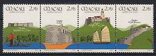 1986 MACAU 4 valori 10° Ann.rio Forze di Sicurezza Yvert 535-8 MNH**